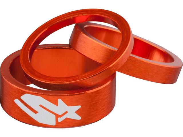 Spank Headset Spacer Kit 3 Stück orange